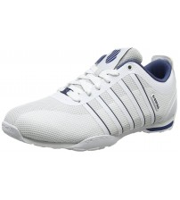 K. Swiss Arvee 1.5 Tech White Navy Mens Mesh Trainers