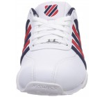 K. Swiss Arvee 1.5 White Blue Red Mens Leather Trainers Shoes Boots