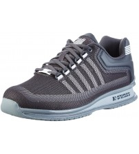 K. Swiss Rinzler Grey White Mens Mesh Trainers Shoes