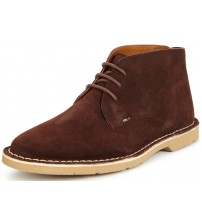 Kickers Kanning Brown Mens Suede Chukka Boots
