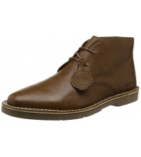 Kickers Kanning Plus Brown Mens Leather Chukka Boots