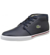 Lacoste Ampthill 117 1 Cam Navy White Leather Mens Trainers