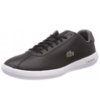 Lacoste Avance 318 Black White Mens Leather Trainers