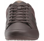 Lacoste Chaymon 118 Dark Brown Leather Mens Trainers Shoes