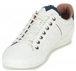 Lacoste Chaymon 118 White Navy Leather Mens Trainers Shoes