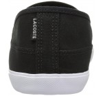 Lacoste Marice BL 2 Black White Canvas Mens Slip-ons Shoes