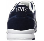 Levi's Almayer II Navy White Mens Suede Trainers Shoes