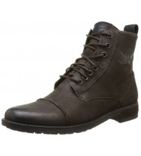 Levi's Maine Brown Men Mid Ankle Leather Army Boots