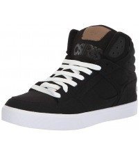 Osiris Clone Black Wool Mens Skate Mid Trainers Boots