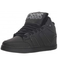 Osiris Convoy Mid SHR Black Charcoal Mens Skate Trainers