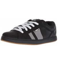 Osiris Loot Black Grey Gum Mens Skate Trainers Shoes