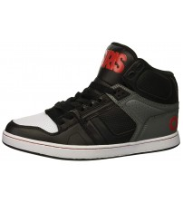 Osiris NYC 83 CLK Black Grey Mens Skate Mid Trainers Boots