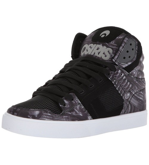 Osiris Clone Huit Alien Mens Hi Top Skate Trainers