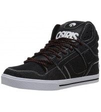 Osiris Clone Denim White Mens Hi Top Skate Trainers