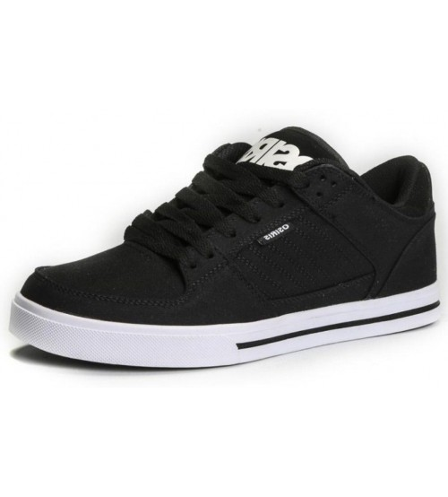 Osiris Protocol Black Oxford Mens Skate Trainers Shoes