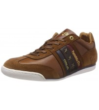 Pantofola d'Ora Imola Uomo Low Brown Mens Leather Trainers