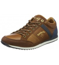 Pantofola d'Ora Matera Uomo Low Brown Mens Leather Trainers