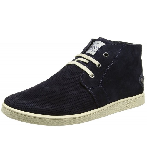 Original Penguin Love Navy Mens Suede Desert Shoes Boots