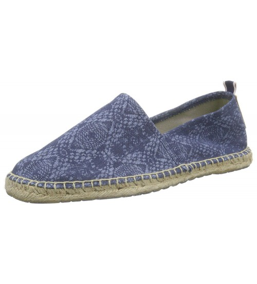 Replay Road Navy Mens Canvas Espadrille Slipons Shoes