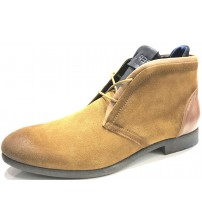 Replay Box Tan Mens Suede Chukka Boots