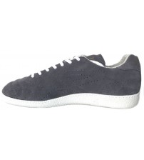 Replay Stone Scatto 1972 Grey Suede Mens Trainers Shoes