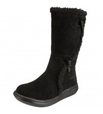 Rocket Dog Slope Black Suede New Womens Hi Winter Shoes Boots