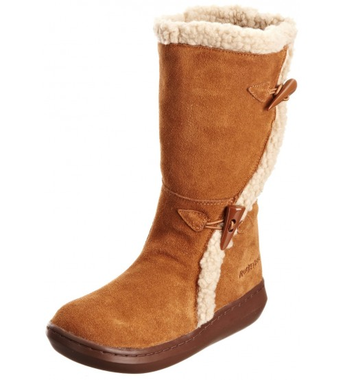 Rocket Dog Slope Chestnut Suede Womens Hi Winter Shoes Boots