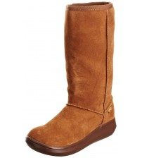 Rocket Dog Sugardaddy Chestnut Suede Womens Hi Winter Shoes