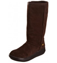 Rocket Dog Sugardaddy Dark Brown Suede Womens Hi Winter Shoes