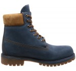 Timberland 6 Inch Premium Navy Mens Leather Boots