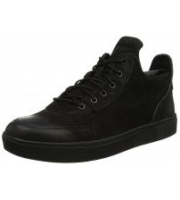 Timberland Amherst Black Mens Leather Chukka Boots