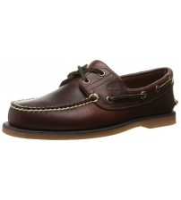 Timberland Boat Rootbeer Brown Mens Leather Boat Shoes