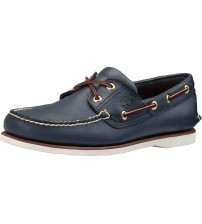 Timberland Boat Navy SM Blue Mens Leather Boat Shoes