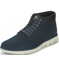 Timberland BradStreet Chukka Navy Mens Leather Boots