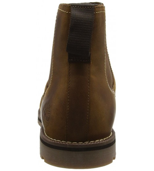 3feca5b8498b Timberland Larchmont Brown Mens Leather Chelsea Boots