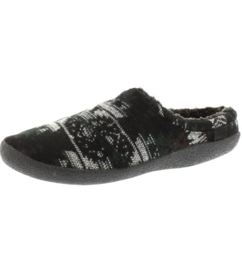 Toms Classic Forest Tribal Shearling Mens Slippers Shoes