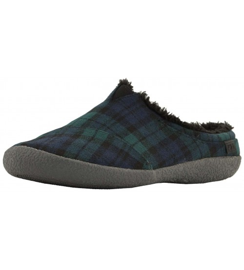 Toms Berkeley Spruce Plaid Felt Mens Slippers Shoes