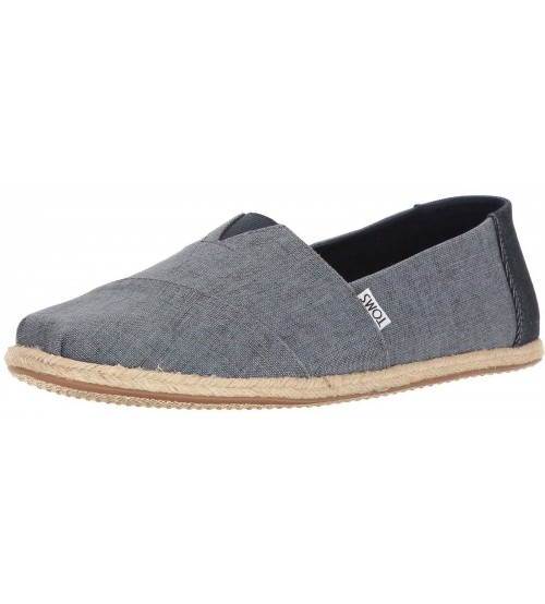 Toms Classic Ocean Linen Rope Mens Canvas Espadrilles Shoes