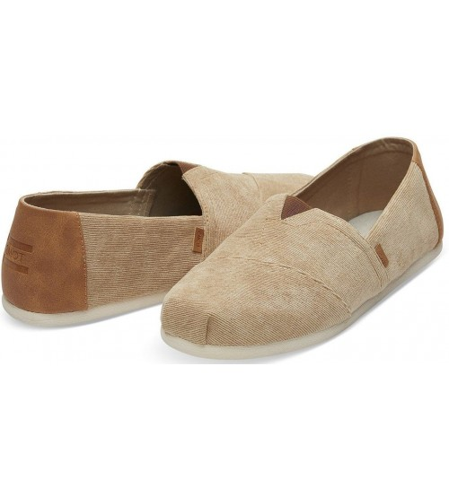 Toms Classic Toffee Corduroy Mens Espadrilles Slipons Shoes