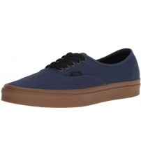 Vans Authentic Denim Gum Mens Canvas Skate Trainers