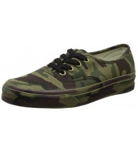 Vans Authentic Camouflage Mens Canvas Skate Trainers