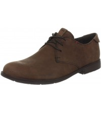 Camper 18552 Brown Red Leather Lace Up Boots