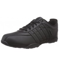 K. Swiss Arvee 1.5 Black Mens Leather Trainers Shoes