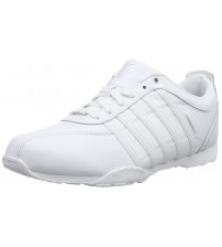 K. Swiss Arvee 1.5 White White Mens Leather Trainers Shoes