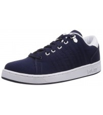 K. Swiss Lozan iii Navy White Men Canvas Trainers