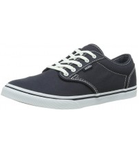 Vans Atwood Low Navy White Women Canvas Trainers