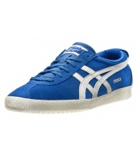 Onitsuka Tiger Mexico Delegation Blue White Suede Mens Trainers Shoes
