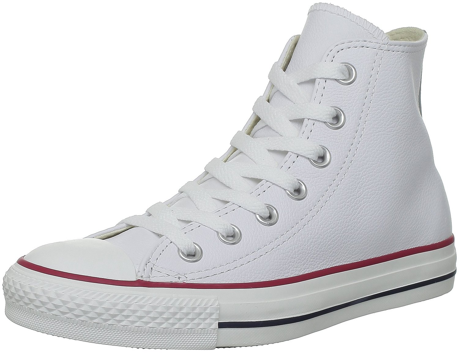 Converse Chuck Taylor All Star White Hi Unisex Leather Trainers Quick View 06cf989d7