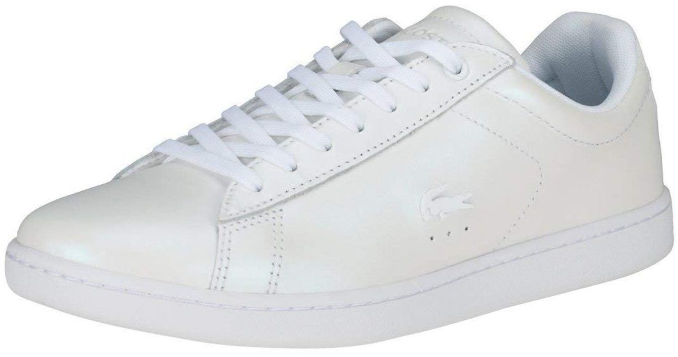 41f0b327b Lacoste Carnaby EVO 318 White Leather Womens Trainers Quick View