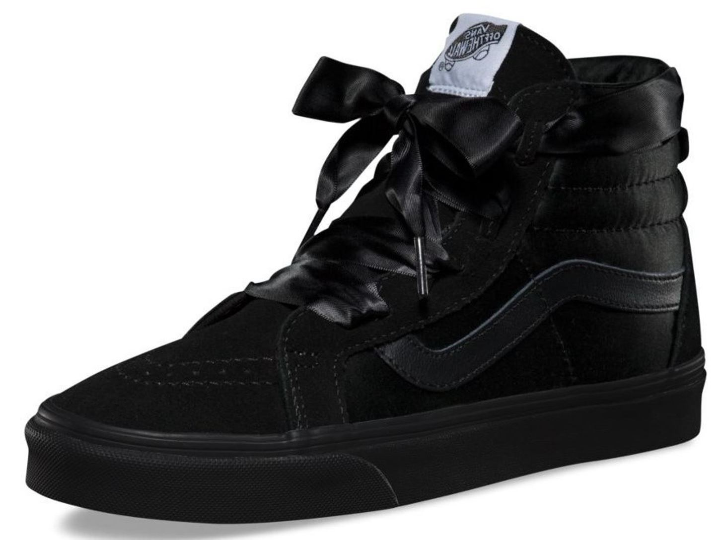 Vans SK8 Hi Ballerina Alt Lace Black Womens Suede Trainers Quick View 09359e47c